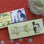 Обёртка для свадебного шоколада